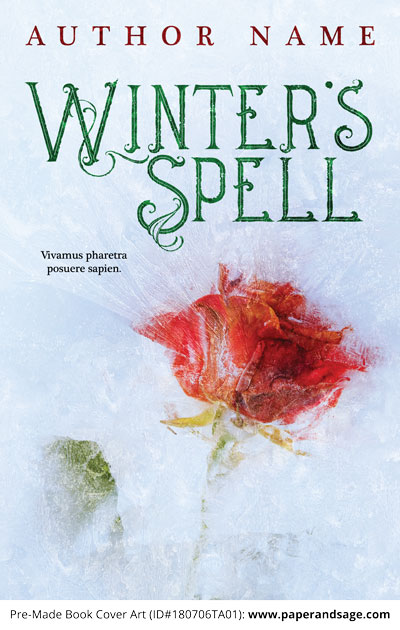 Pre-Made Book Cover ID#180706TA01 (Winter's Spell)