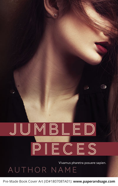 Pre-Made Book Cover ID#180708TA01 (Jumbled Pieces)