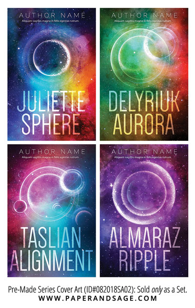 PreMade Series Covers ID#082018SA02 (Juliette Sphere, Only Sold as a Set)