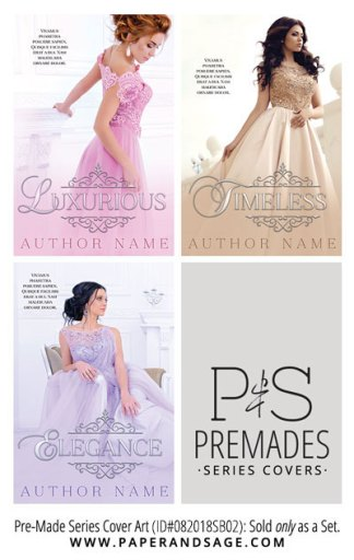 PreMade Series Covers ID#082018SB02 (Luxurious Series, Only Sold as a Set)