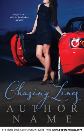 Pre-Made Book Cover ID#180815TA01 (Chasing Lines)