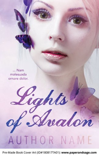 Pre-Made Book Cover ID#180817TA01 (Lights of Avalon)
