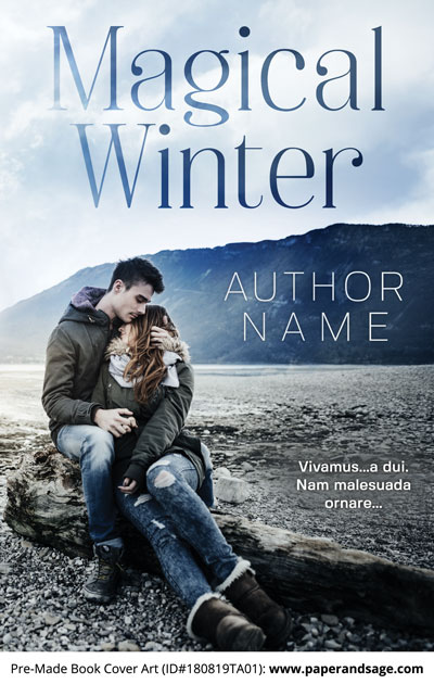 Pre-Made Book Cover ID#180819TA01 (Magical Winter)
