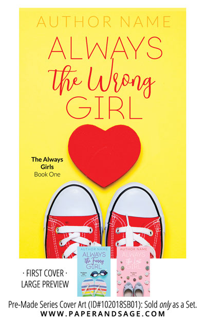 PreMade Series Covers ID#102018SB01 (The Always Girls Series, Only Sold as a Set)