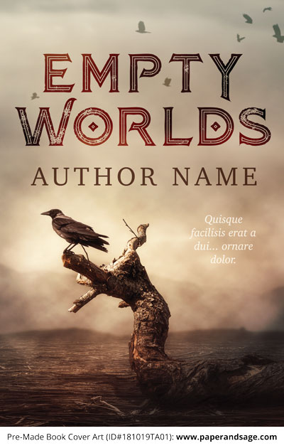 Pre-Made Book Cover ID#181019TA01 (Empty Worlds)