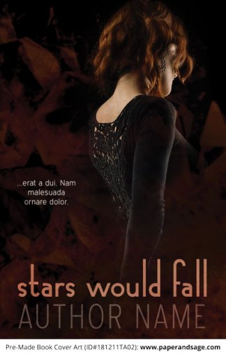 Pre-Made Book Cover ID#181211TA02 (Stars Would Fall)