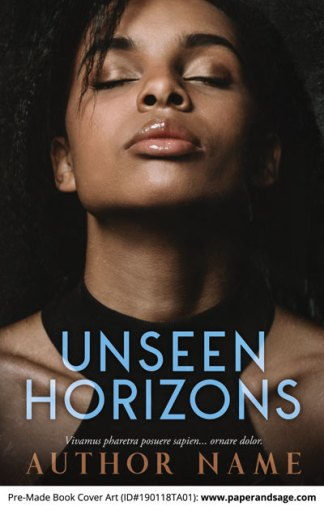 Pre-Made Book Cover ID#190118TA01 (Unseen Horizons)