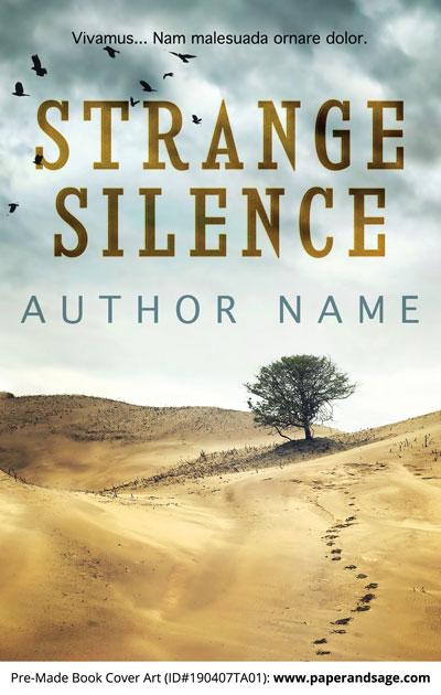 Pre-Made Book Cover ID#190407TA01 (Strange Silence)