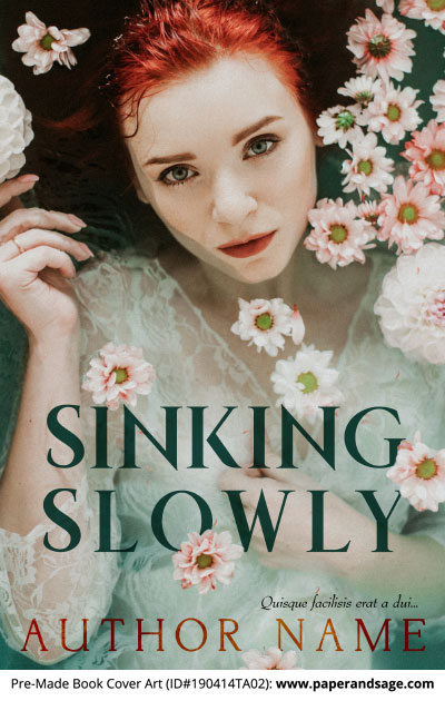 Pre-Made Book Cover ID#190414TA02 (Sinking Slowly)