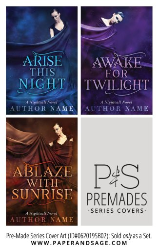 PreMade Series Covers ID#062019SB02 (Nightcall Novels, Only Sold as a Set)