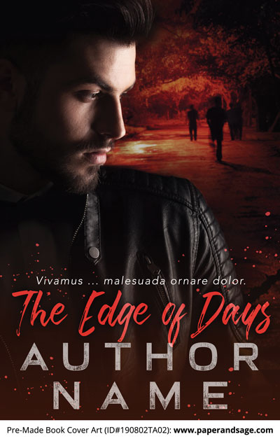 Pre-Made Book Cover ID#190802TA02 (The Edge of Days)