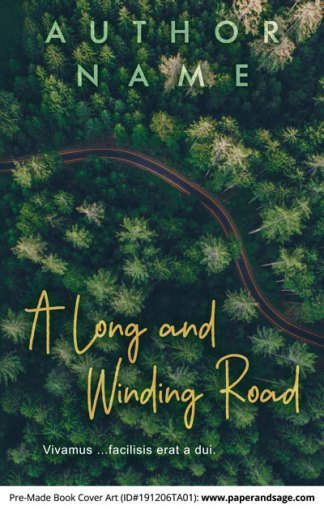 Pre-Made Book Cover ID#191206TA01 (A Long and Winding Road)