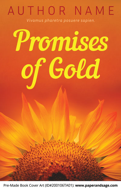 Pre-Made Book Cover ID#200106TA01 (Promises of Gold)