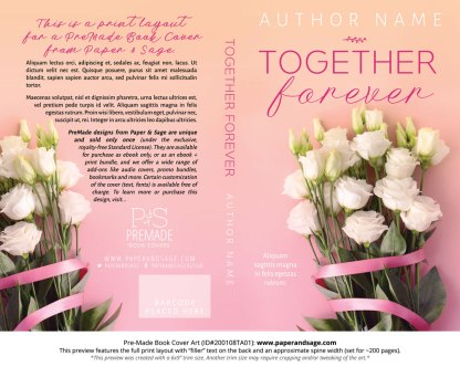 Pre-Made Book Cover ID#200108TA01 (Together Forever)