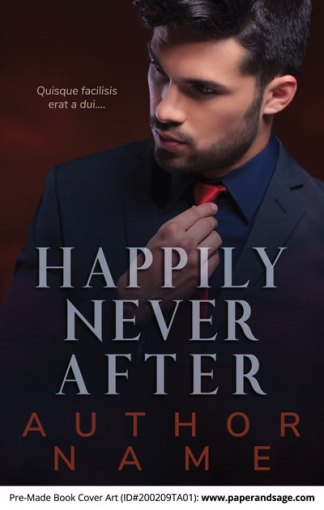Pre-Made Book Cover ID#200209TA01 (Happily Never After)