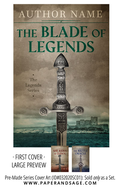 PreMade Series Covers ID#032020SC01 (The Legends Series, Only Sold as a Set)