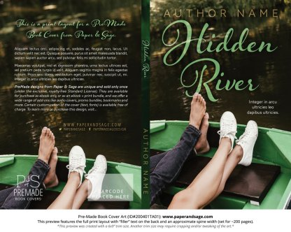 Pre-Made Book Cover ID#200401TA01 (Hidden River)