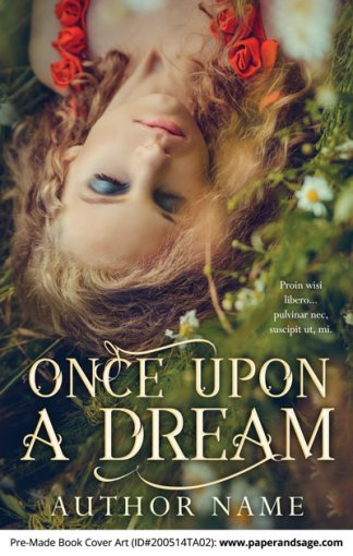 Pre-Made Book Cover ID#200514TA02 (Once Upon a Dream)