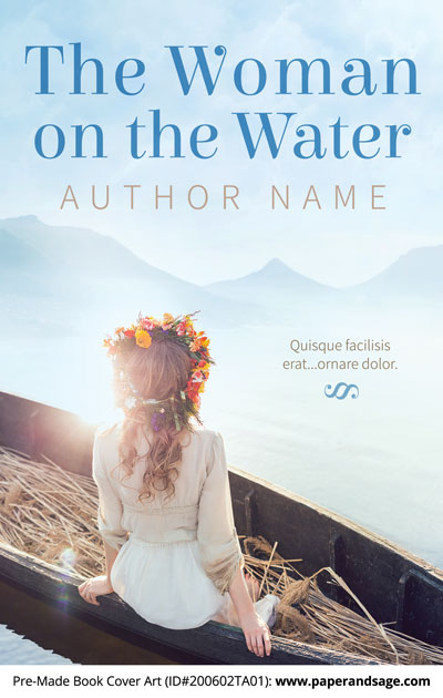 Pre-Made Book Cover ID#200602TA01 (The Woman on the Water)