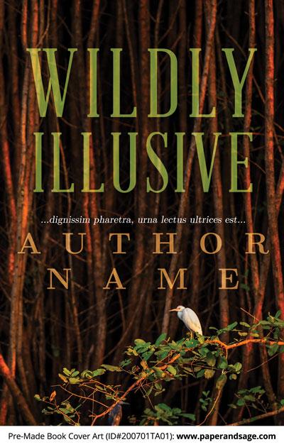 Pre-Made Book Cover ID#200701TA01 (Wildly Illusive)