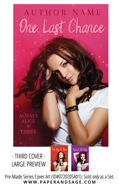 PreMade Series Covers ID#072020SA01 (Always Alice Series, Only Sold as a Set)