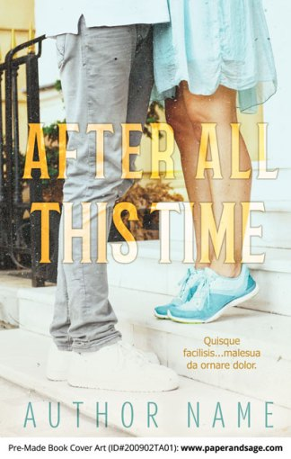 Pre-Made Book Cover ID#200902TA01 (After All This Time)