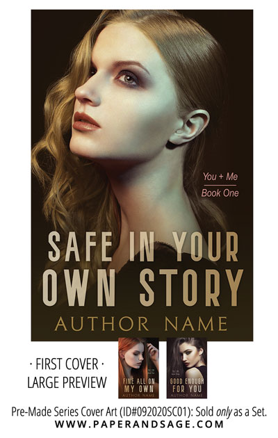 PreMade Series Covers ID#092020SC01 (You + Me Series, Only Sold as a Set)