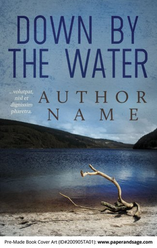 Pre-Made Book Cover ID#200905TA01 (Down by the Water)