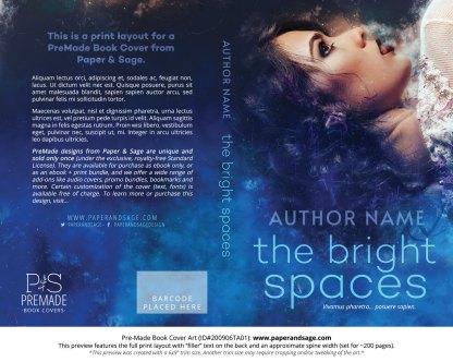 Pre-Made Book Cover ID#200906TA01 (The Bright Spaces)