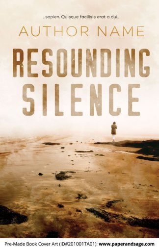 Pre-Made Book Cover ID#201001TA01 (Resounding Silence)