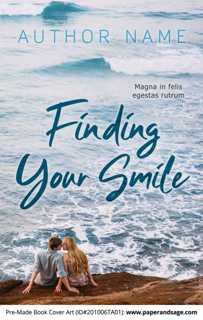 Pre-Made Book Cover ID#201006TA01 (Finding Your Smile)