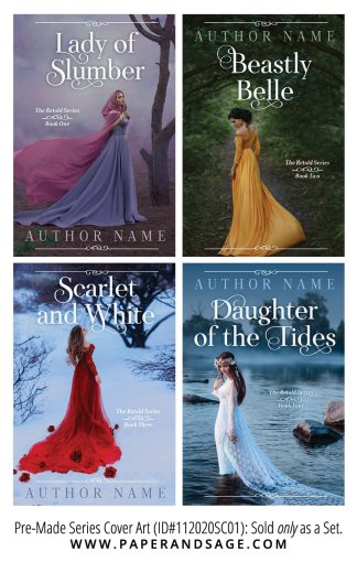 PreMade Series Covers ID#112020SC01 (Retold Series, Only Sold as a Set)