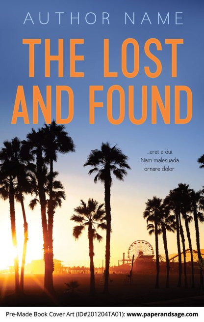 Pre-Made Book Cover ID#201204TA01 (The Lost and Found)