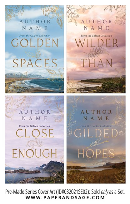 PreMade Series Covers ID#032021SE02 (Golden Series, Only Sold as a Set)