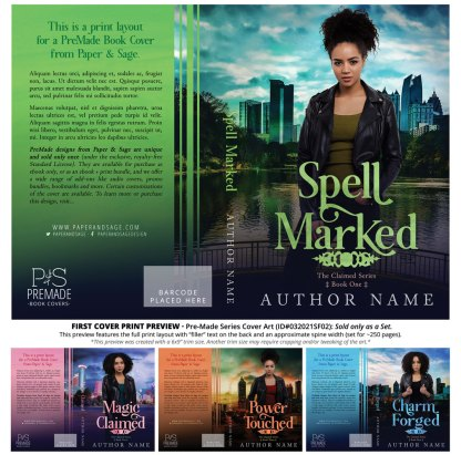 PreMade Series Covers ID#032021SF02 (Claimed Series, Only Sold as a Set)