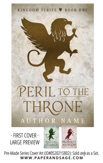 PreMade Series Covers ID#052021SB02 (The Kingdom Series, Only Sold as a Set)