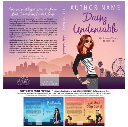 PreMade Series Covers ID#052021SE02 (The Rosewood Sisters Series, Only Sold as a Set)
