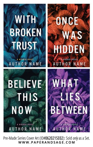 PreMade Series Covers ID#062021SE02 (Hidden Series, Only Sold as a Set)