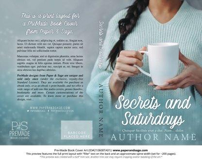 Pre-Made Book Cover ID#210608TA01 (Secrets and Saturdays)