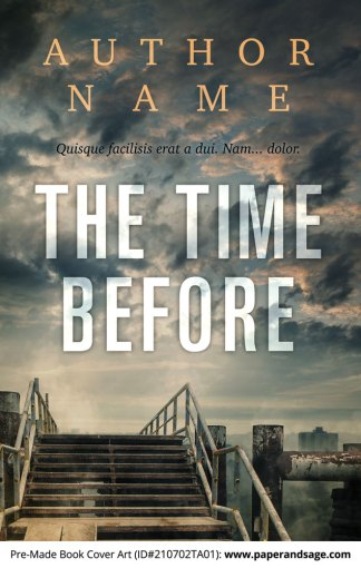 PreMade Book Cover ID#210702TA01 (The Time Before)