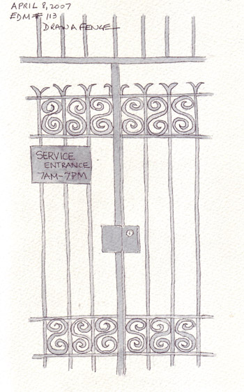 Paper and Threads: EDM Challenge 113: Draw a Fence
