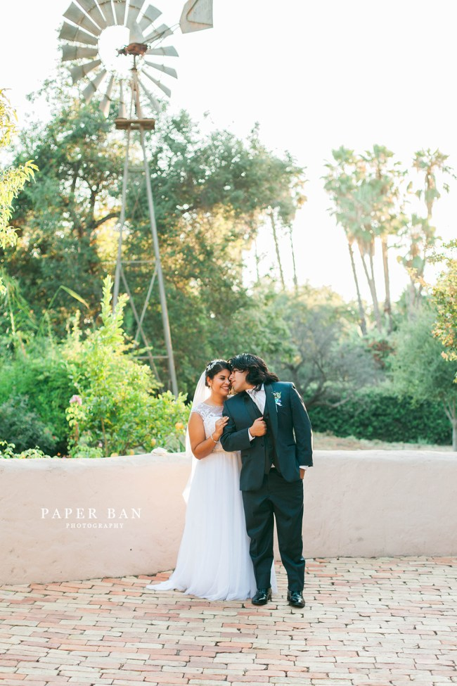 Vista adobe wedding