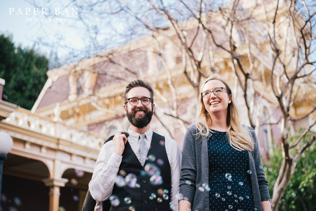 Disneyland Engagement Portrait Photographer