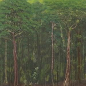 Wet rainforest - subtropical (pastel)