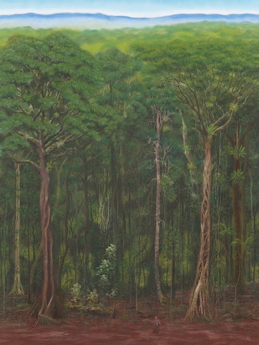 Wet rainforest - subtropical (pastel)