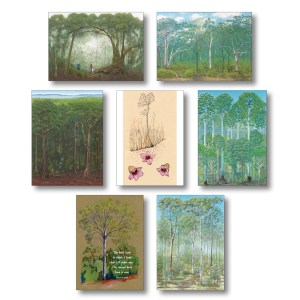 Tree-lovers greeting card collection