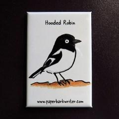 Hooded Robin fridge magnet