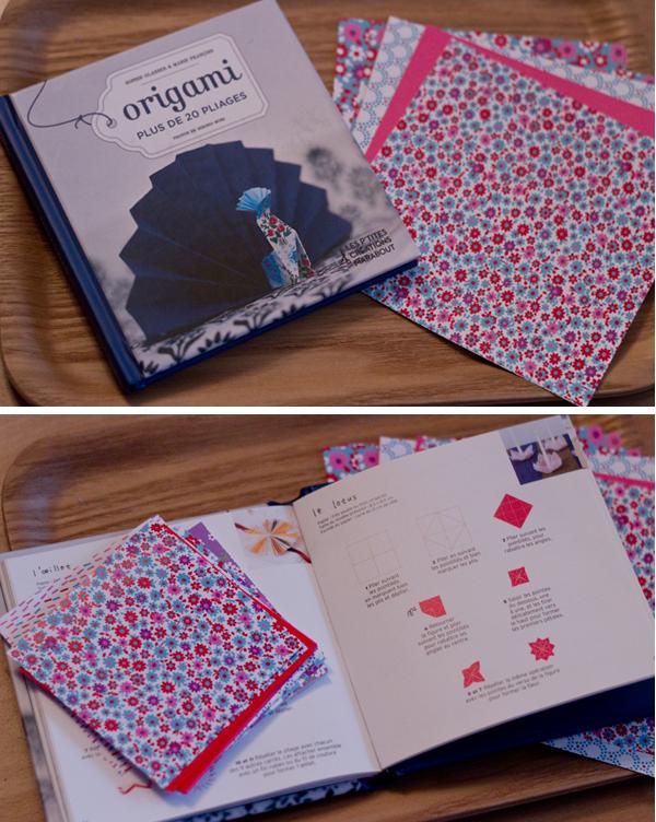 Livre origami Marabout