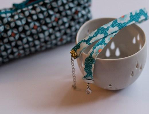 Bracelet biais petit pan