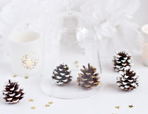 DIY pommes de pin - décorations de Noël - www.paperboat.fr